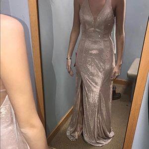Prom dress; originally $250